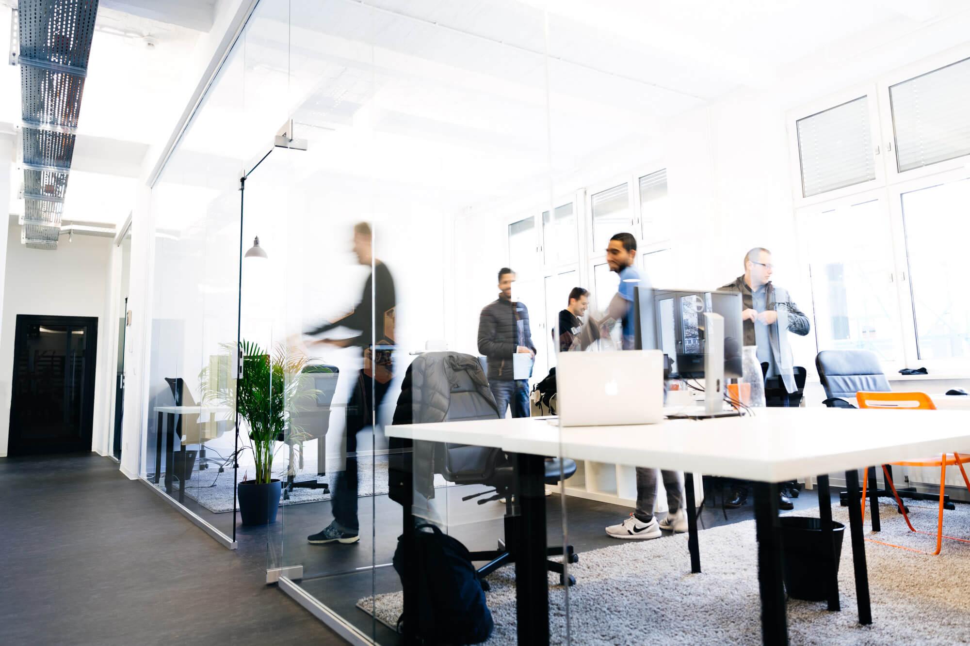 Bürobilder Entwickler