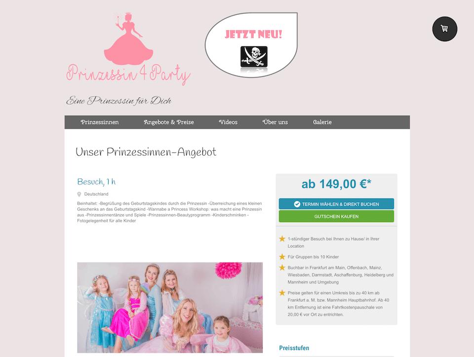 Umsatztreiber_Kindergeburtstag_Prinzessin4Party