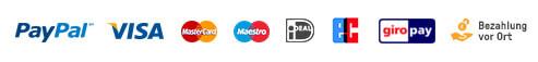 bookingkit bietet alle gängigen Zahlungsmethoden an