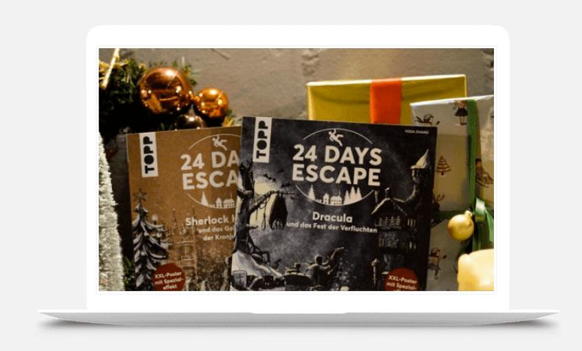 Mehr Buchungen an Weihnachten trotz Corona Weihnachtskalender